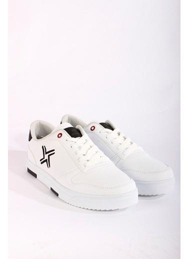 Rodrigo Erkek Taba Sneaker Ayakkabı Beyaz